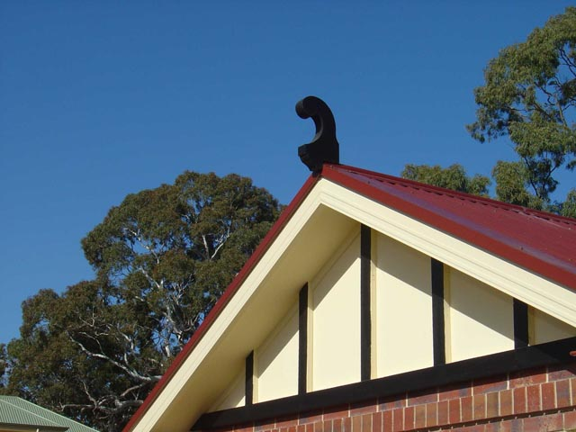 Gooseneck Roof Finials No.1