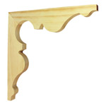 Treated Verandah Brackets | Timber Bracket | AB004R