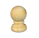 Treated Fence Post Caps | Timber Capitals | Exterior Post Tops | AC002R