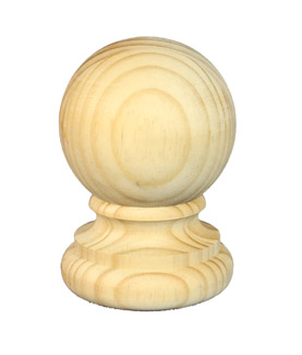 Ball Fence Post Capitals 110 diameter