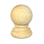Treated Fence Post Caps | Timber Capitals | Exterior Post Tops | AC005R