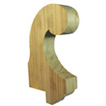 Treated Roof Finials | Timber Gable Spires | AG032R