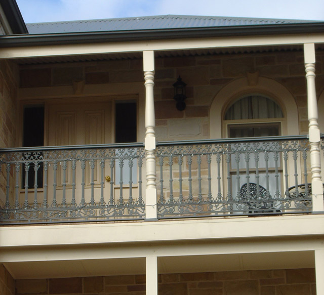 Treated Turned Timber Verandah Posts Exterior Porch