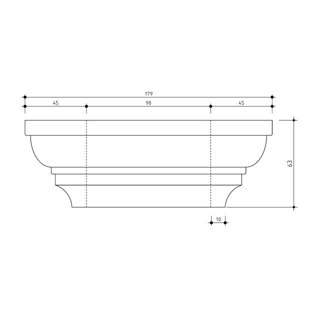 Large Post Capital Moulds for 90x90 Post