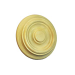 Treated Facia Rosettes | Turned Timber Rosette |AR001R