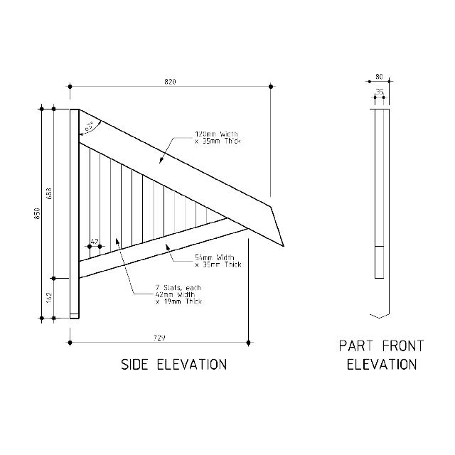 awning plans woodcraft kit wood projects from logs