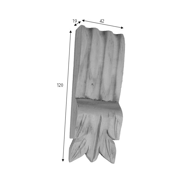 120x42x19 C2 Timber Corbels