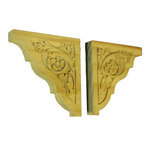 Timber Corbels | Wooden Carvings | HC031R