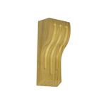 170x70x50 Fluted 70 Timber Corbels