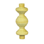 38x18 diameter Timber Gallery Spindles
