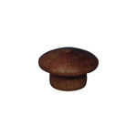 "9.5mm (3/8"") Timber Cover Buttons (Jarrah)"