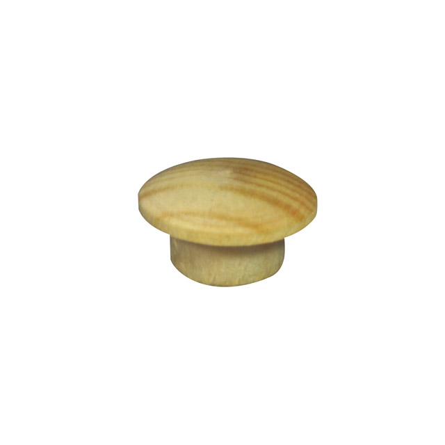 9.5mm (3/8 inch) Timber Cover Buttons (Pine)