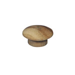 "9.5mm (3/8"") Timber Cover Buttons (Vic Ash)"