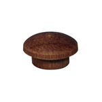 "12.7mm (1/2"") Timber Cover Buttons (Jarrah)"