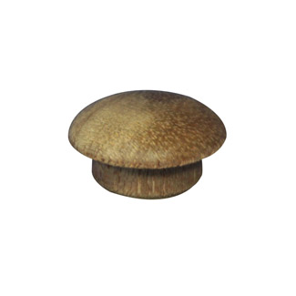 12.7mm (1/2 inch) Timber Cover Buttons (Meranti)