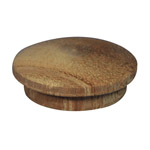 25.4mm (1 inch) Timber Cover Buttons (Meranti)