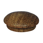 25.4mm (1 inch) Timber Cover Buttons (Kwila)