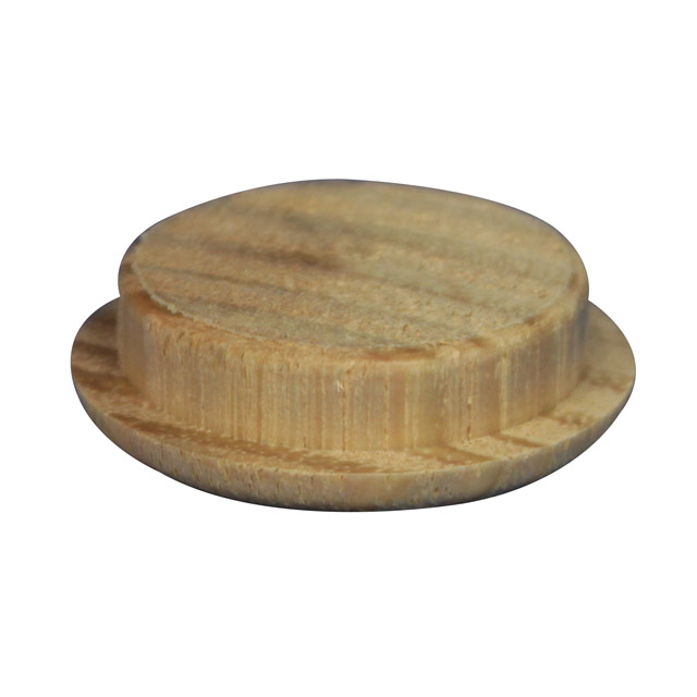 Timber Cover Buttons Oak Wooden Plugs Fb006t