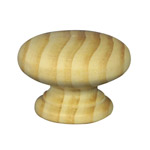 45mm Wooden Knob Handles (Pine)