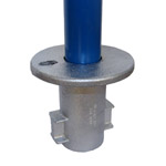 Inground Socket for 48mm Galvanised Pipe