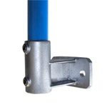Heavy Duty Upright Side Support for 48mm Galvanised Pipe