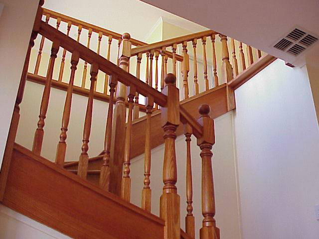 Tasman Turned Timber Balusters 1000x42sq (Vic Ash)
