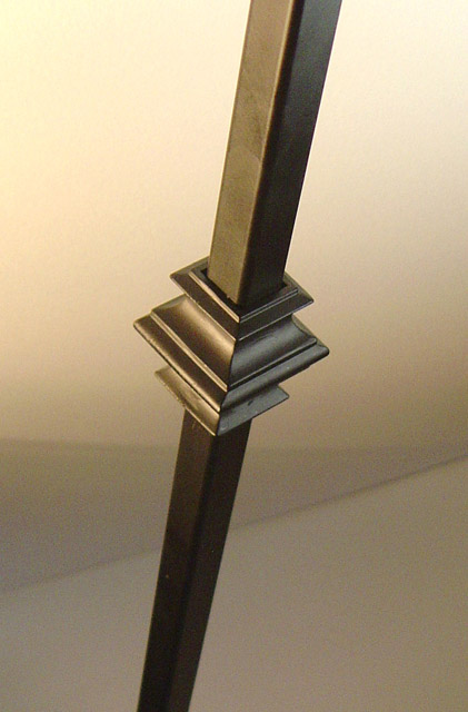 16mm square Single Knuckle Metal Balusters