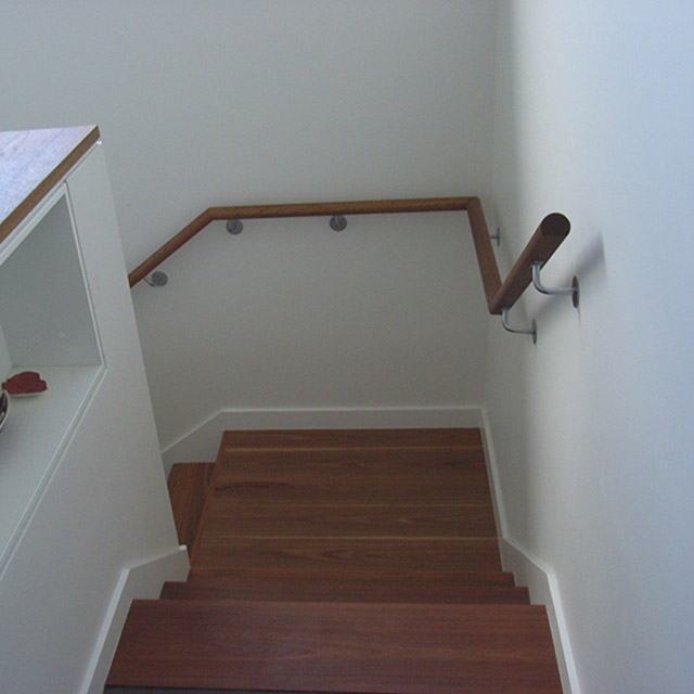75mm HD Handrail Brackets (Satin Finish)