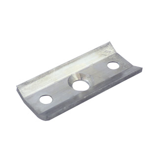 Curved Plate For IF500XSC Handrail Brackets