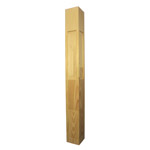 Prestige Plain Stair Posts with Recess 1500x155sq (Pine)