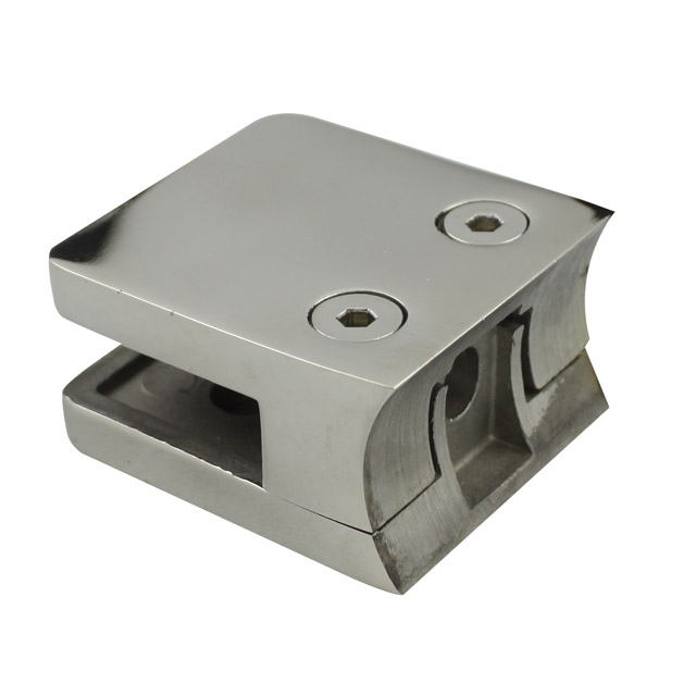 Stainless steel glass clamps balustrade fittings