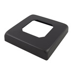 Cover For Square Black Glass Spigot - Deck Mount