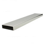 Rectangle Tube 50x10 (316 Satin) - 5.8 metre Length
