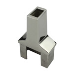 Rail Converter for 25x50 Rectangular Mirror Tube