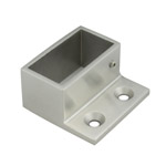 Wall Flange for 25x50 Rectangular Satin Tube