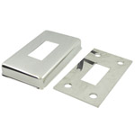 Base Plate and Cover for 25x50 Rectangular Mirror Tube