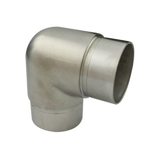 90 degree Acute Bend for 38.1 Round Satin Tube
