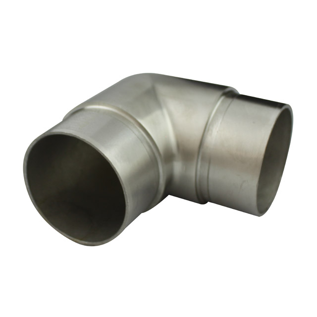 Stainless steel fittings round balustrade