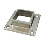 Base Plate with 4 Holes for 50 Square Mirror Tube