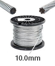 10.0mm Stainless Steel Wire Cable Rope