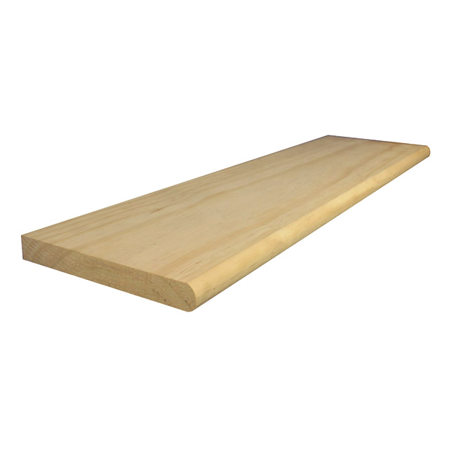 Exceptional 1000x290x35mm Stair Treads With Bullnose (Pine)