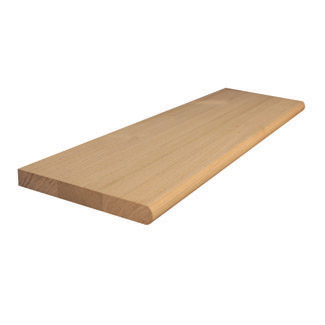 1200x285x33mm Stair Treads with Bullnose (Vic Ash)