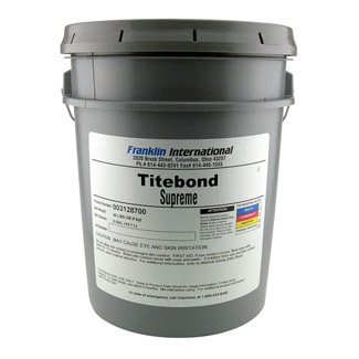 Titebond Supreme Wood Glue - 19 litre Drum