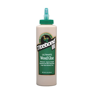 Titebond 3 Wood Glue - 473 ml Bottle