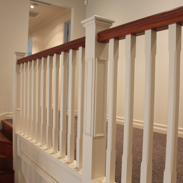 Prestige Plain Stair Posts with Recess 1500x115sq (Pine)_4