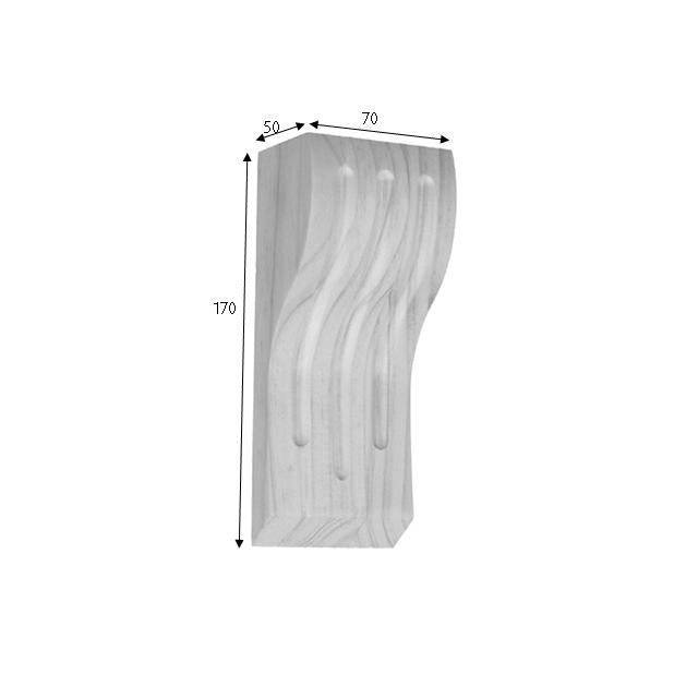 170x70x50 Fluted 70 Timber Corbels_2