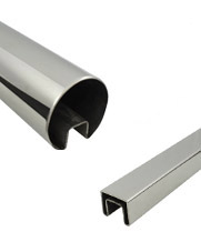 Slotted Stainless Steel Handrails