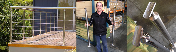 Ready-To-Use Stainless Steel Balustrade Posts