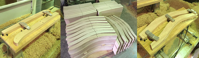 Timber Chair Frame Components