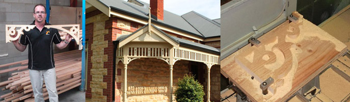 Treated Timber Verandah Brackets